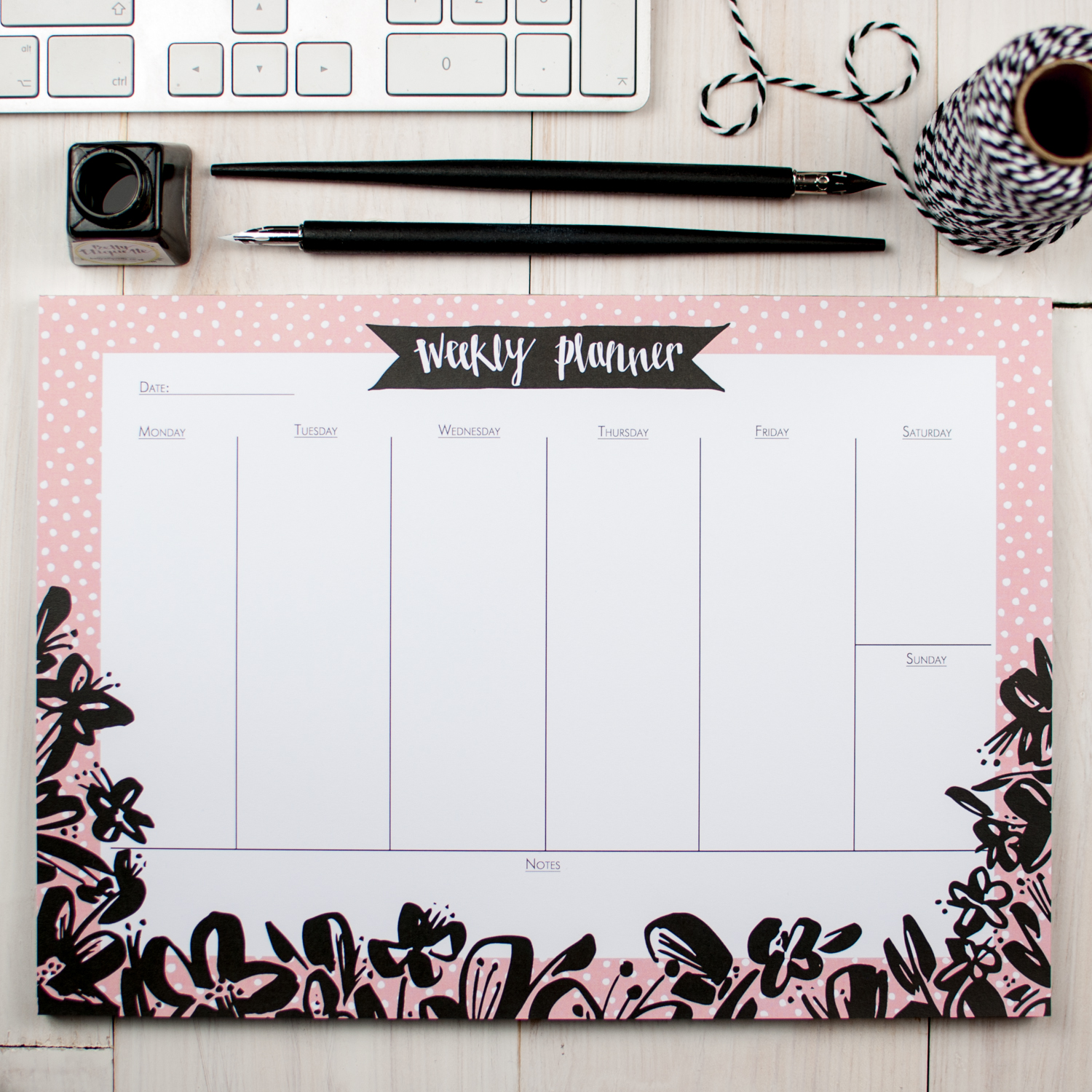 Betty-Etiquette-Inky-Floral-Desk-Pad-1